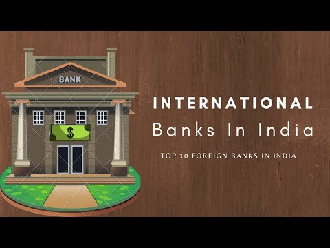 International banks in India | Top 10 foreign banks in India #internationalbanks #bankslist