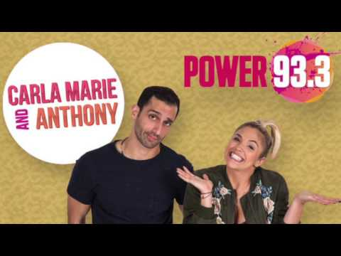 Power 93.3's Carla Marie and Anthony discuss Keegan Hall's art and charity campaigns