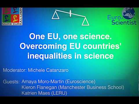 MCAA - Euroscientists: One EU, one science Overcoming EU countries inequalities in science