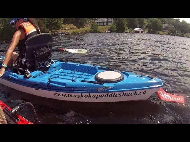 First Time Kayaking  Jackson CUDA LT