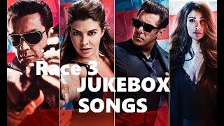 Race 3 Movie Songs jukebox   Salman Khan   Bobby Deol   Jaqueline F.   Daisy Shah