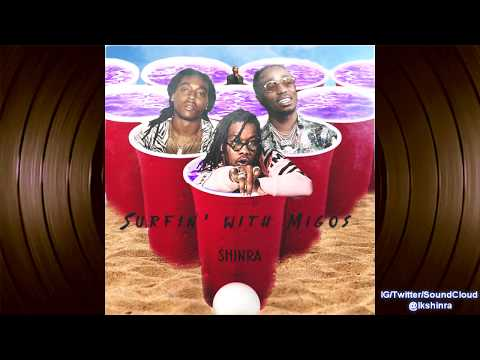 Migos - Surfing With Migos (feat. Lil Uzi Vert) (Produced By Shinra) [Culture III 3]