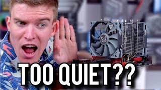 The QUIETEST Cooler I Have EVER Used! [Scythe Ninja 5 Review]