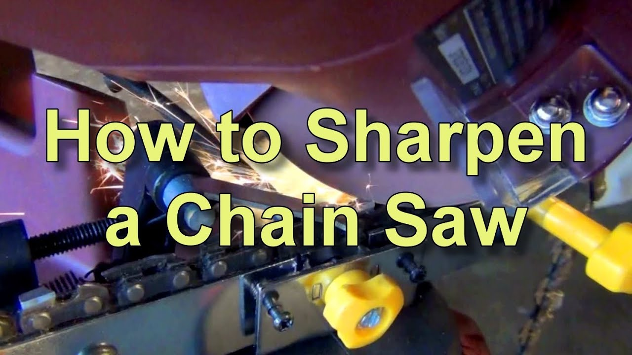 How to sharpen a chain saw with the harbor freight sharpener youtube how to sharpen a chain saw with the harbor freight sharpener greentooth Images