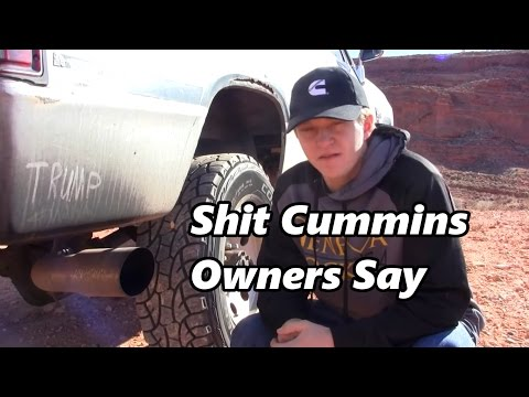 Shit Cummins Owners Say