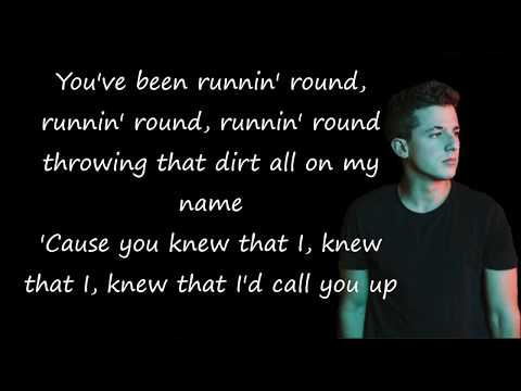 Attention - Charlie Puth (lyric)