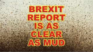 This Brexit Agreement is as Clear as Mud!