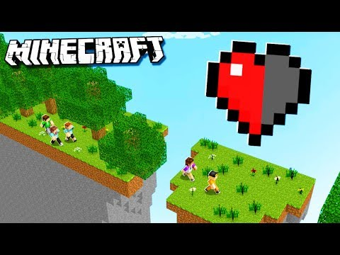 THE PALS HALF HEART RACE TOURNAMENT! (Minecraft)