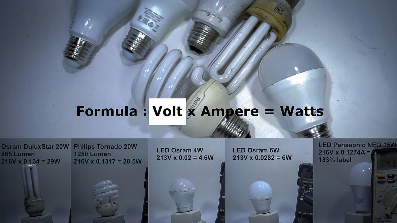 Lampu Led Vs Lampu Neon Tabung Perbandingan Yang Hemat Listrik