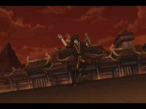 Zuko Vs Azula Agni Kai ORIGINAL SOUNDTRACK Last Battle Avatar The Airbender
