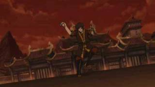 Zuko Vs Azula Agni Kai ORIGINAL SOUNDTRACK Last Battle Avatar The Last Airbender
