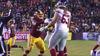 Sounds of the Game: Redskins vs. Giants