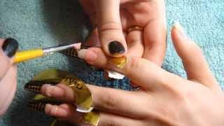 наращивание ногтей видео уроки
