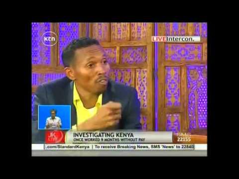 Mohamed Ali Jicho Pevu full interview with JKL on KTN TV