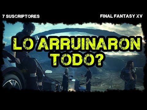 Final Fantasy XV - Review-Análisis en español - Vale la pena jugarlo? 7Suscriptores