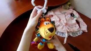 видео Игрушки на кроватку, коляску