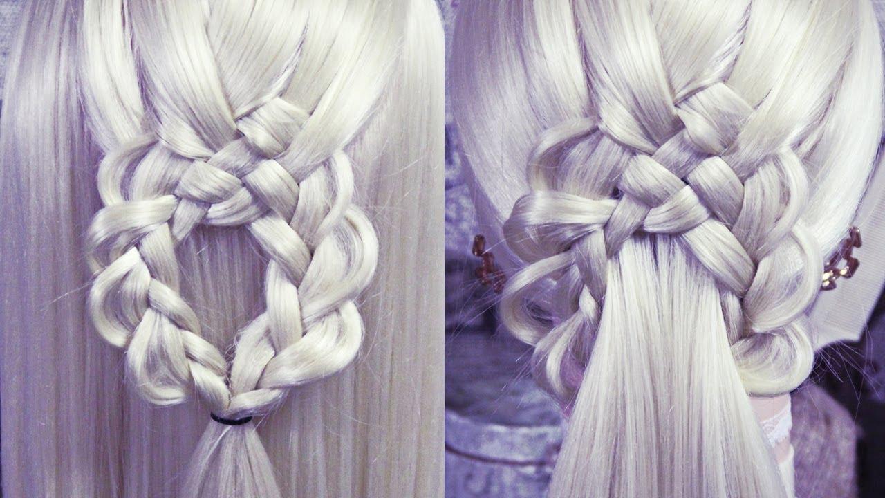 "Коса ""Кольцо"" | Hairstyles by REM | Copyright ©"
