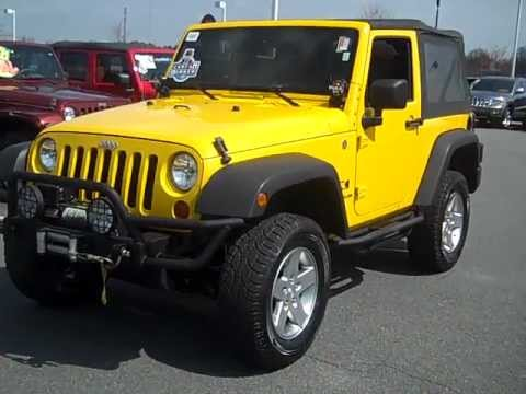 2009 jeep wrangler x 4x4 in charlotte nc lake norman chrysler jeep dodge youtube. Black Bedroom Furniture Sets. Home Design Ideas