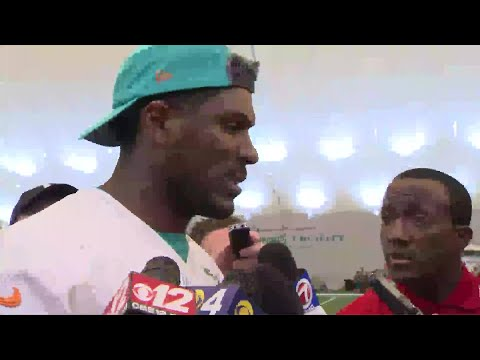 Fins On 4: Julius Thomas Speaks To The Media Following Practice