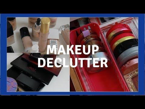Makeup Declutter 2019    Mid-Year Makeup Clean Up    Makeup Giveaway thumbnail