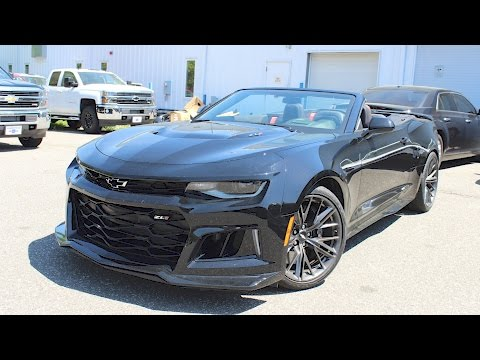 2017 Chevrolet Camaro ZL1 Convertible (6 Spd): In Depth First Person Look