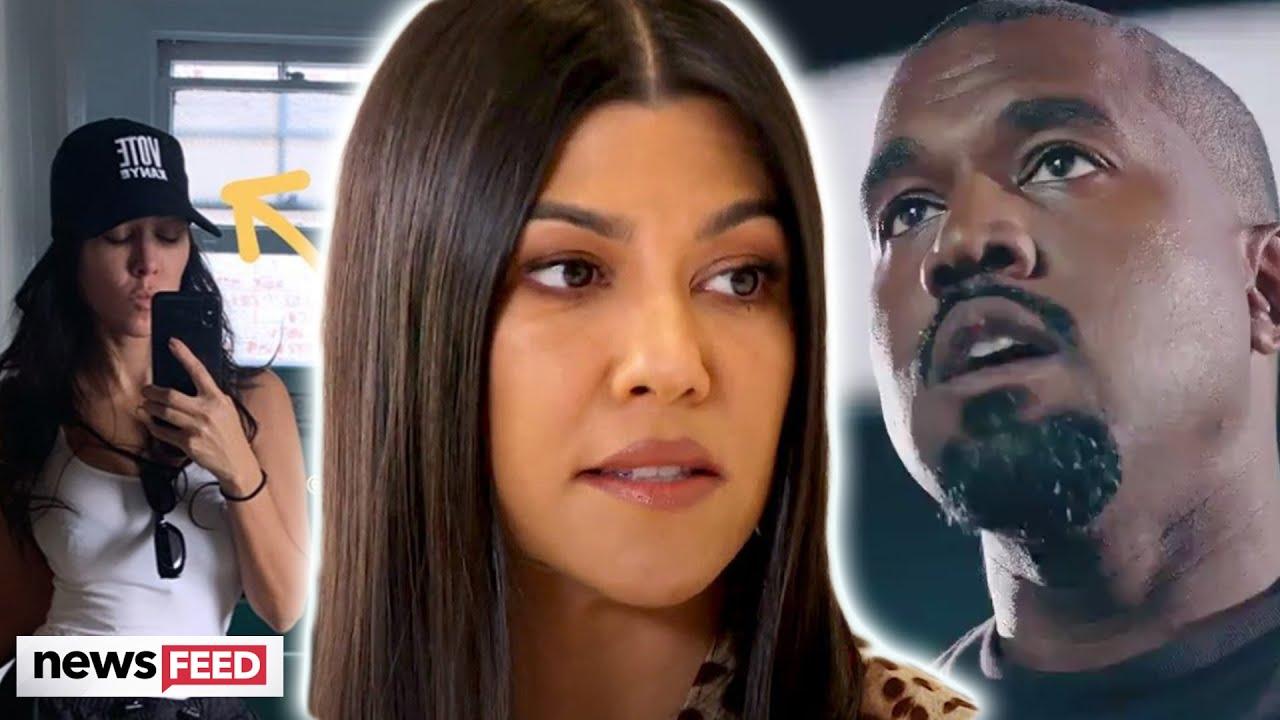 Kourtney Kardashian ENRAGES Fans With 'Vote Kanye' Post