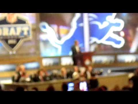 Detroit Lions select Nick Fairley