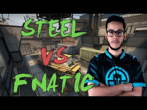 CSGO: POV IMT steel vs fnatic (25/19) train @ DH Masters Malmö 2017