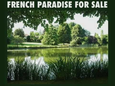 House And Lake For Sale In France