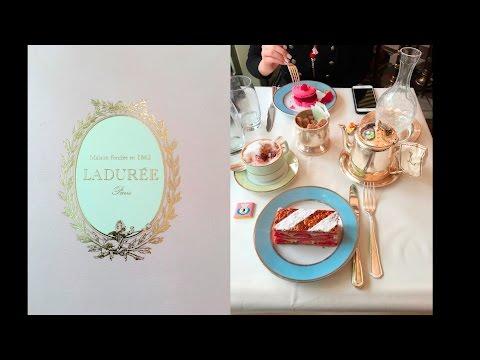 Lunch At Laduree Paris, Louis Vuitton & Sacre Coeur - Paris Vlog Day 3
