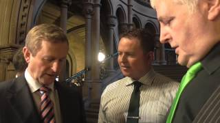 The Taoiseach of Ireland, Enda Kenny TD