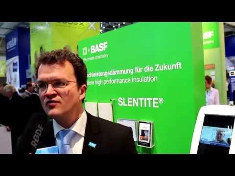 Dr. Marc Fricke, Erfinder Von Slentite Bei BASF Polyurethans, Spricht über Den Neuen Superdämmstoff