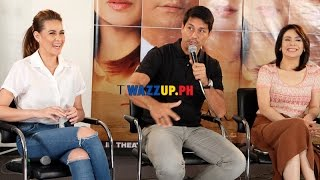 Part 1 The Love Affair Movie Blogcon with Richard Gomez Dawn Zulueta Bea Alonzo