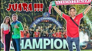 TEGANG !!! INDONESIA JUARA !!! Nonton Final Piala AFF 2018 Indonesia U16 Vs Thailand U16