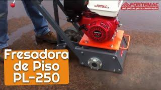 Fresadora de Asfalto e Concreto FORTEMAC ! Com motor Honda 9HP 4 tempos