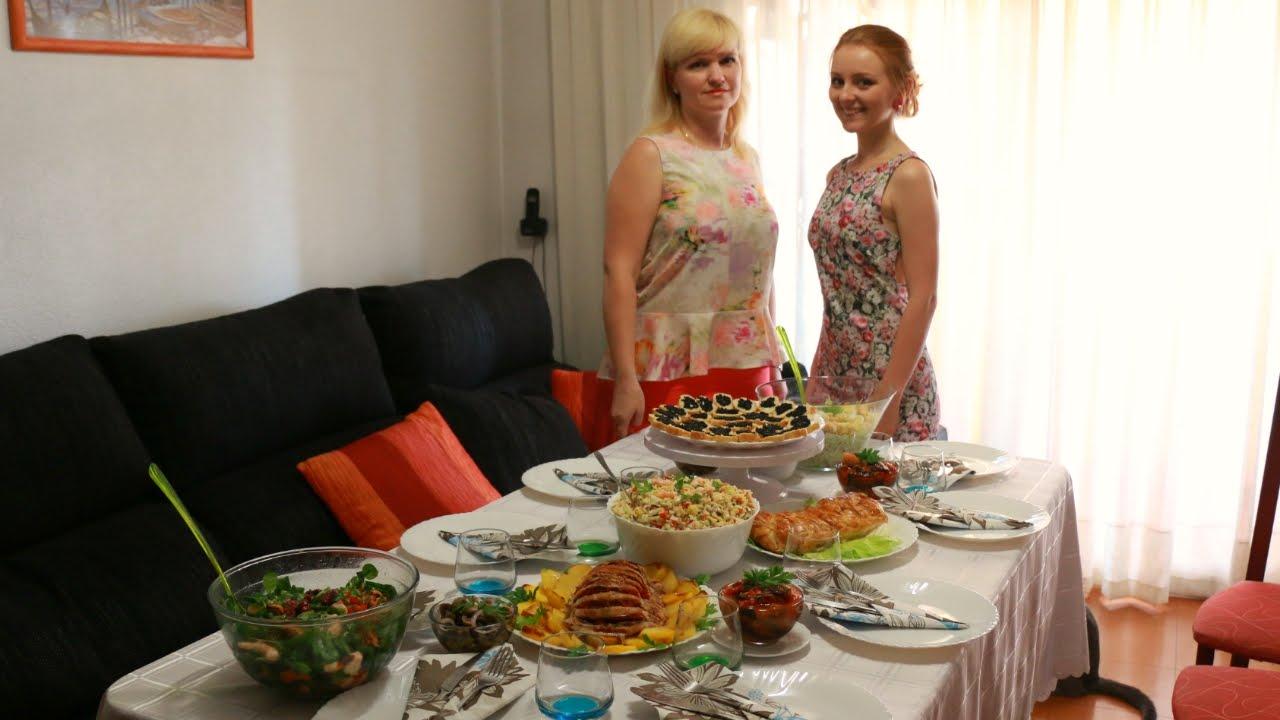рецепты праздничных блюд с фото на день рождения