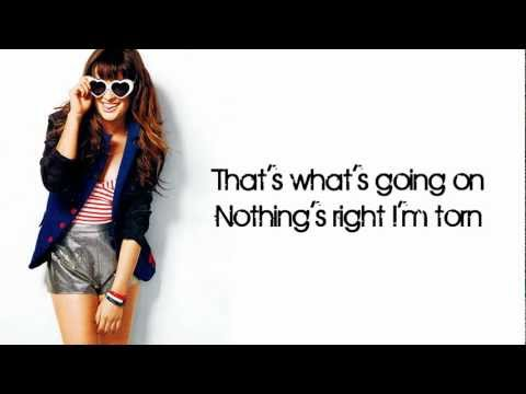 Glee - Torn (Lyrics)
