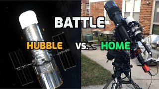 Battle II: Home Telescope vs. Hubble Space Telescope (Orion Nebula) #shorts
