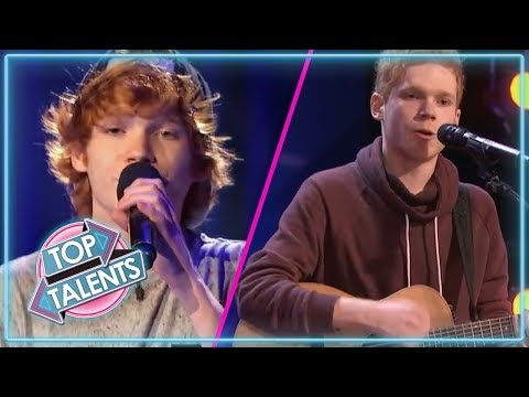 Singer Chase Goehring Audition On Talent Geeks 2018 - Thủ