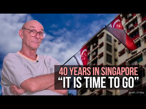 """40 years in Singapore """"It is time to go"""""""