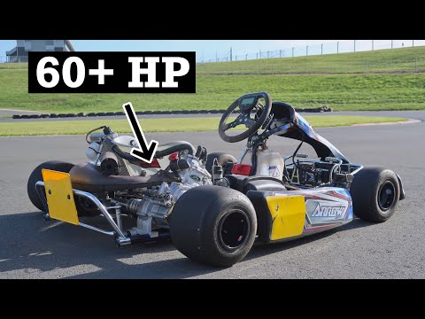 2 Stroke Swapped Shifter Kart is SUPER FAST!!