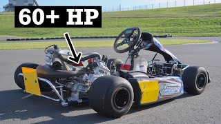 2 Stroke Swapped Shifter Kart is SUPER FAST!!