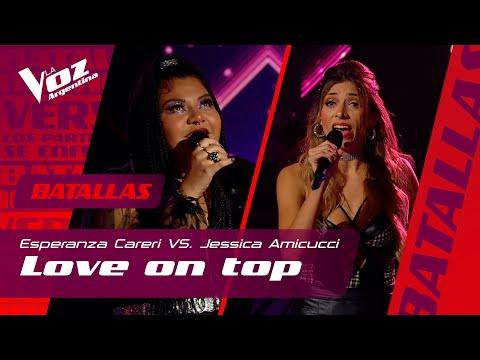 """Esperanza Careri vs. Jessica Amicucci - """"Love on top"""" – Batallas – La Voz Argentina"""