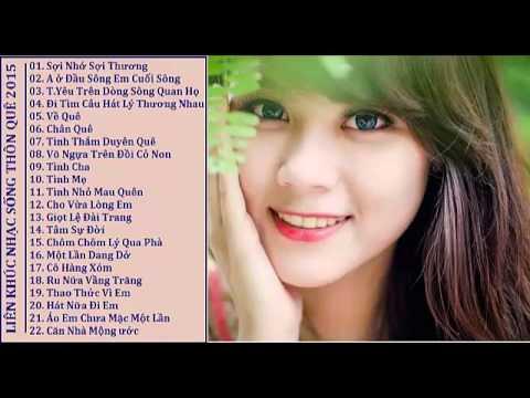 Nhạc Sống Thôn Quê Hay Nhất 2015 - Liên Khúc Sợi Nhớ Sợi Thương - DJ Viet 888