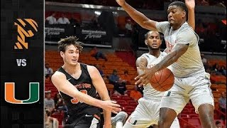 Princeton vs. Miami Basketball Highlights (2017)