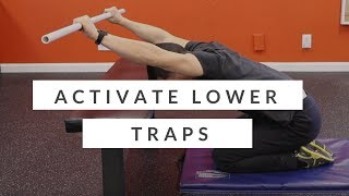 Download Video How to activate your lower traps - beginner lower trapezius exercise MP3 3GP MP4