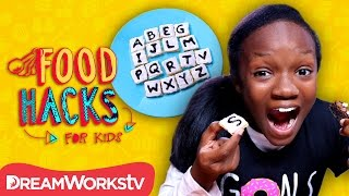 Edible Game Night Hacks | FOOD HACKS FOR KIDS