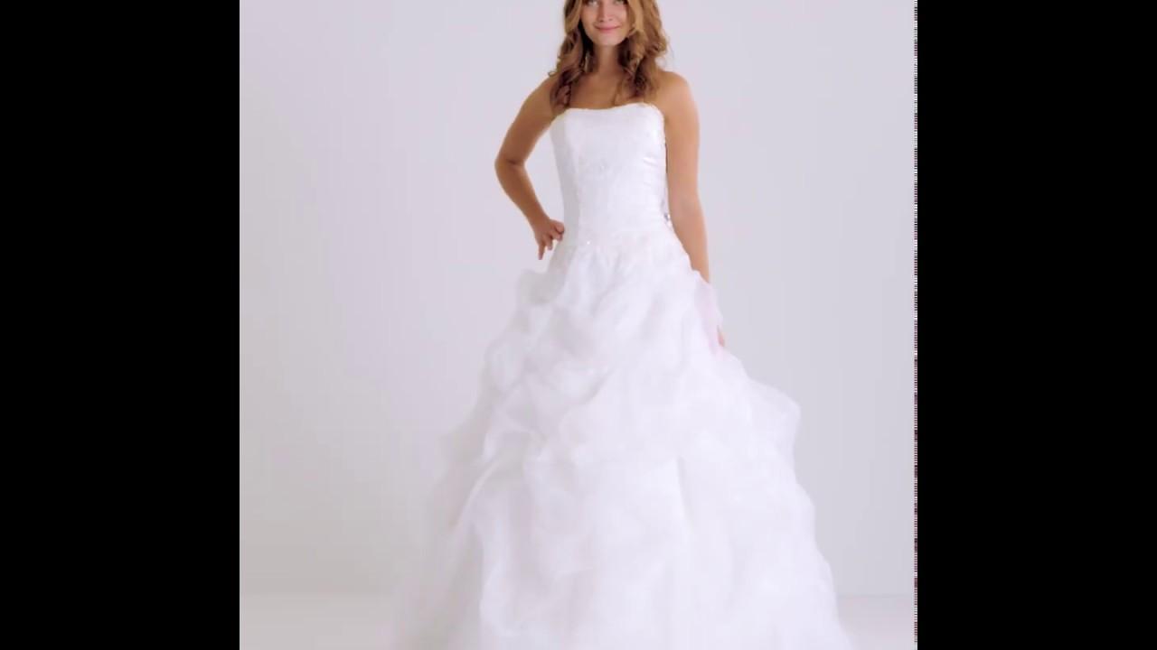 Robe de mariee princesse tati