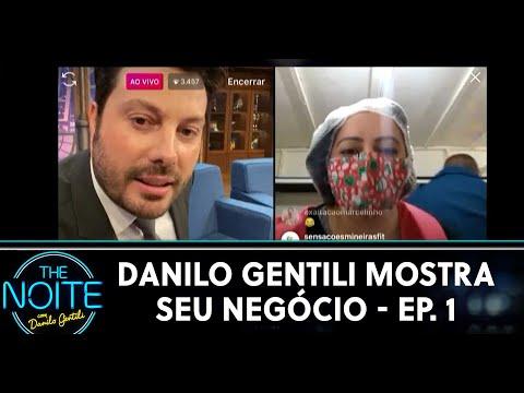 Danilo Gentili Mostra o Seu Negócio - Ep 1  The Noite 270520