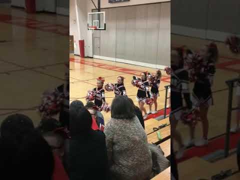 Pikeland community school cheerleaders
